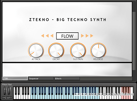 ZTEKNO Big Techno Synth KONTAKT