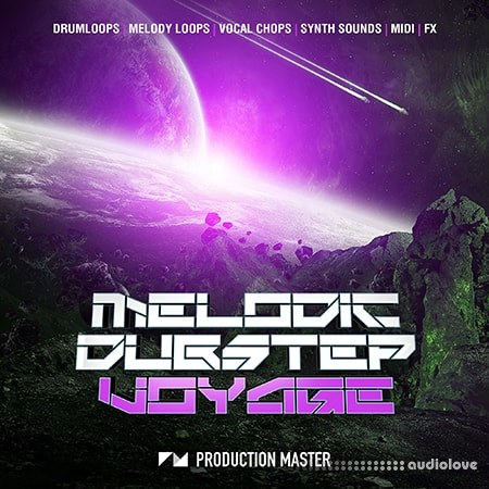 Production Master Melodic Dubstep Voyage WAV MiDi Synth Presets