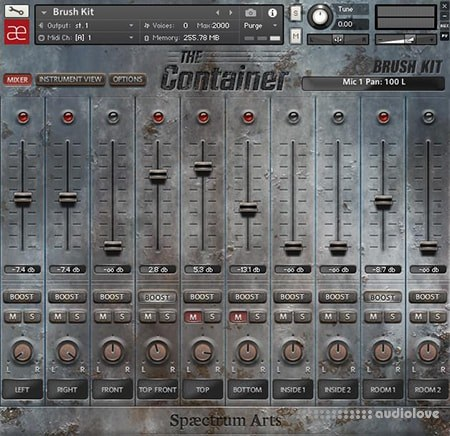 Spaectrum Arts The Container KONTAKT