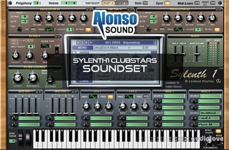 Alonso Sound Alonso Sylenth1 Clubstars Soundset Synth Presets