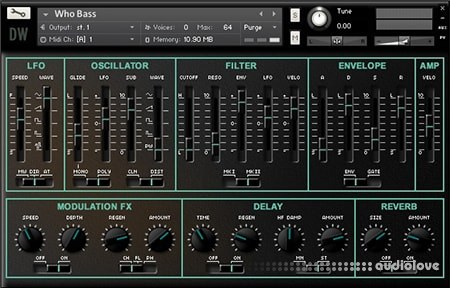 Hideaway Studio Zero-1 Synthesizer KONTAKT