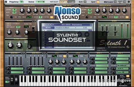 Alonso Sound Alonso Sylenth1 Soundset Synth Presets