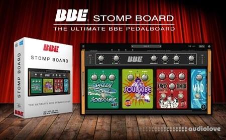 BBE Sound Stomp Board v1.0.1 WiN MacOSX