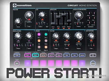 Groove3 Novation Circuit Mono Station Power Start TUTORiAL