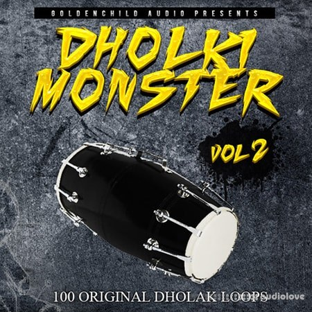Goldenchild Audio Dholki Monster 2 WAV REX AiFF