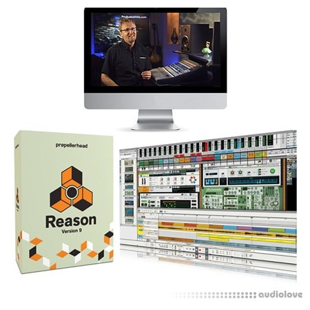 ProAudioDVDs Reason 9 Training Course TUTORiAL
