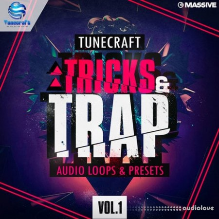 Tunecraft Sounds Tricks And Trap Vol.1 WAV MiDi Synth Presets