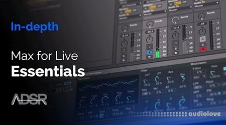 ADSR Sounds Max for Live Essentials Control Devices TUTORiAL