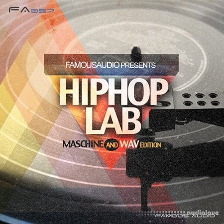Famous Audio Hip Hop Lab WAV MiDi Maschine
