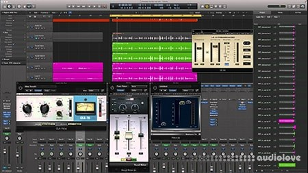 SkillShare Mixing with Compression in Logic Pro X TUTORiAL