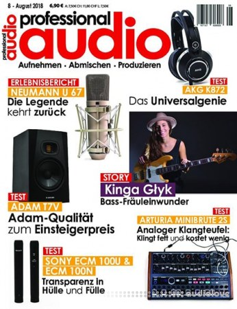 Professional Audio Juli 2018