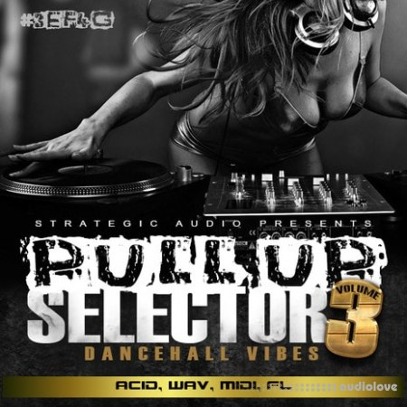 Strategic Audio Pull Up Selector Dancehall Vibes Vol.3 WAV MiDi DAW Templates