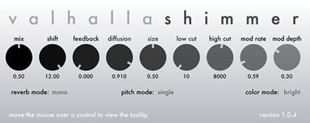 Valhalla DSP ValhallaShimmer v1.0.4 WiN MacOSX
