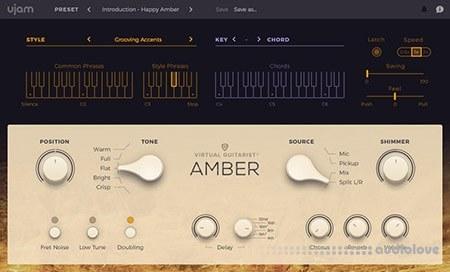 UJAM Virtual Guitarist AMBER v1.0.2 MacOSX