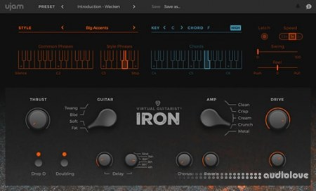 UJAM Virtual Guitarist IRON v1.0.1 / v1.1.1 MacOSX