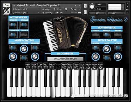 Virtual Acoustic Guerrini Superior 2 KONTAKT