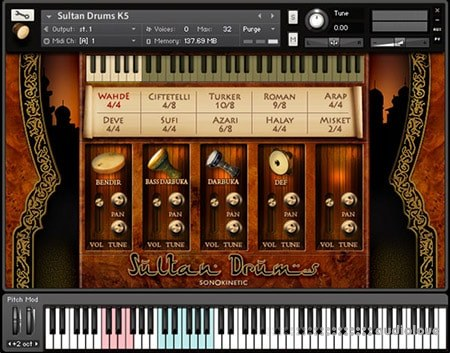 Sonokinetic Sultan Drums v1.1 KONTAKT