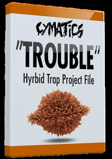 Cymatics Trouble - Hybrid Trap Project File