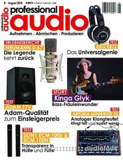 Professional Audio Juli 2018