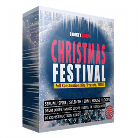 Smokey Loops Christmas Festival WAV MiDi Synth Presets