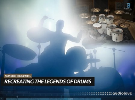 Groove3 Superior Drummer 3 Recreating the Legends of Drums TUTORiAL
