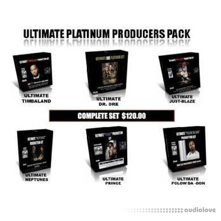 Ultimate Producers Drum Kits Full (11 Packs) WAV MP3 MiDi