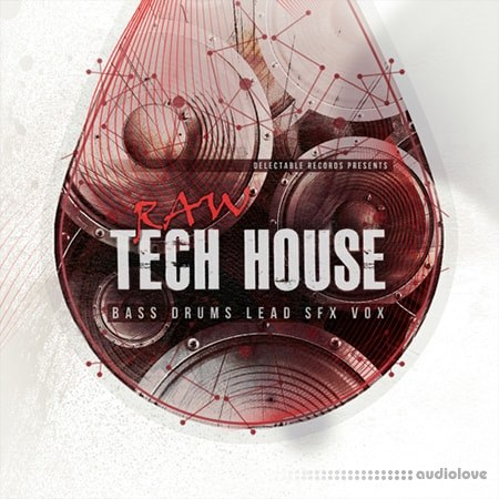 Delectable Records Raw Tech House WAV
