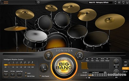 SONiVOX Big Bang Universal Drums 2 v2.3 WiN