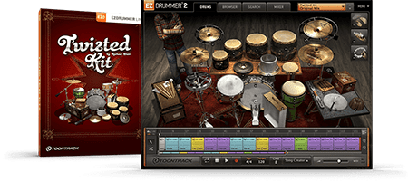 Toontrack EZX Twisted Kit v1.5.1 EZDrummer WiN MacOSX