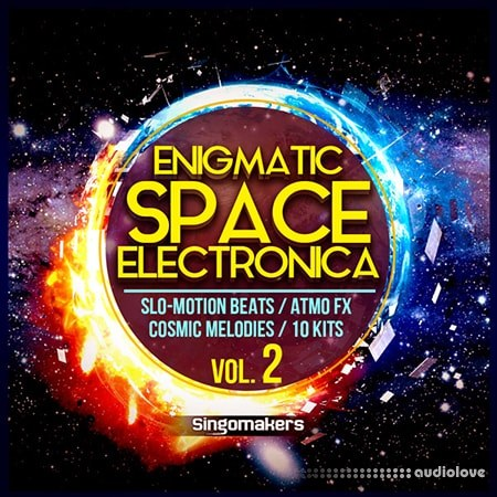 Singomakers Enigmatic Space Electronica Vol.2 WAV MiDi
