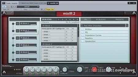RedWirez mixIR2 v1.1.185 WiN MacOSX