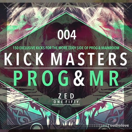 Zenhiser Kick Masters Progressive and Main Room House WAV