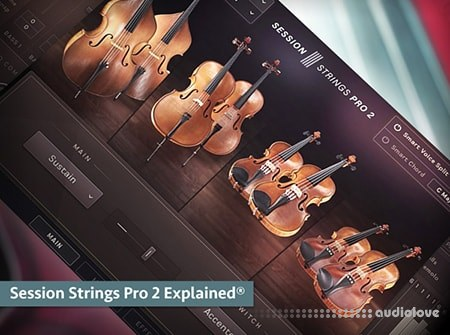 Groove3 Session Strings Pro 2 Explained TUTORiAL