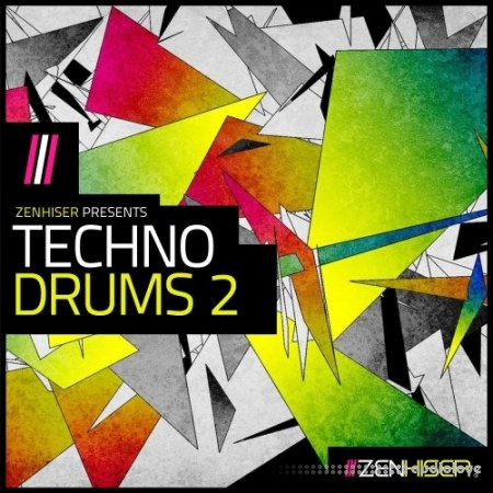 Zenhiser Techno Drums 2 WAV