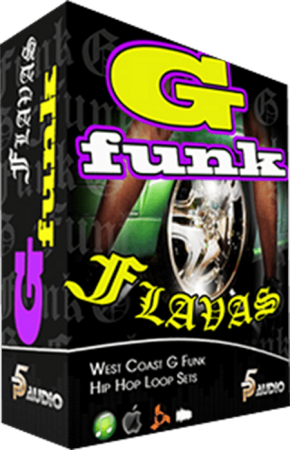 P5 Audio G Funk Flavas Hip Hop Loop Sets MULTiFORMAT