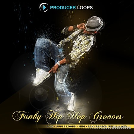 Producer Loops Funky Hip Hop Grooves ACiD WAV MiDi REX