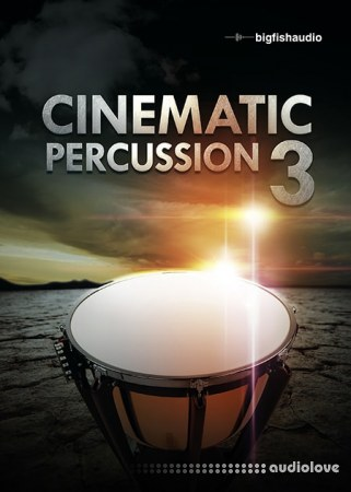 Big Fish Audio Cinematic Percussion 3 MULTiFORMAT KONTAKT