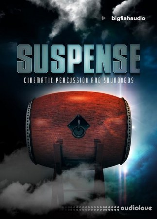 Big Fish Audio Suspense Cinematic Percussion and Soundbeds MULTiFORMAT KONTAKT