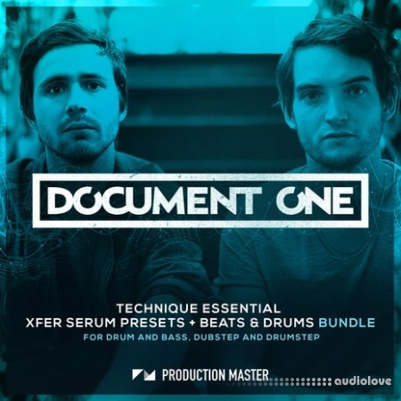 Production Master Document One Technique Essential WAV Synth Presets