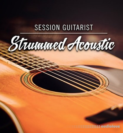 Native Instruments SESSION GUITARIST STRUMMED ACOUSTIC KONTAKT