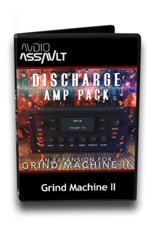 Audio Assault Discharge Amp Pack v1.2 for Grind Machine II Synth Presets