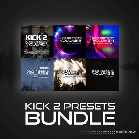 Sonic Academy Kick 2 Preset Bundle Synth Presets