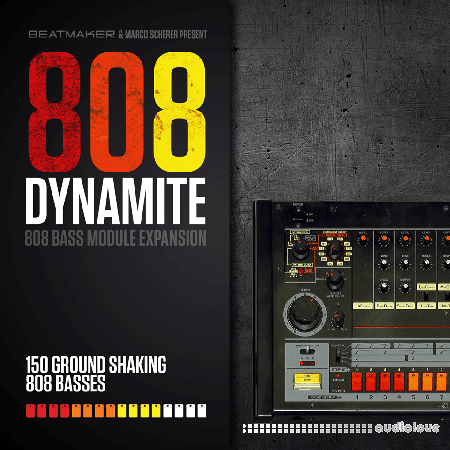 BeatMaker 808 Dynamite Expansion for 808 Bass Module III Synth Presets