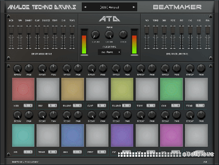 BeatMaker Analog Techno Drums v1.0.0 WiN MacOSX