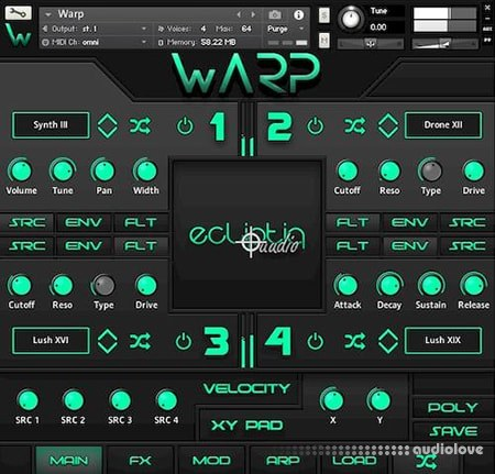 Ecliptiq Audio WARP KONTAKT