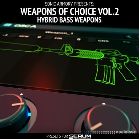 Sonic Armory Weapons of Choice Vol.2 Synth Presets
