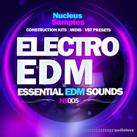 Nucleus Samples Electro EDM WAV MiDi Synth Presets