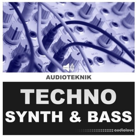 Audioteknik Techno and Synth Bass 2 WAV