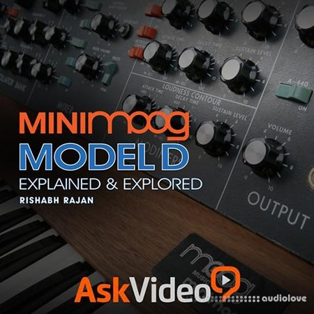 Ask Video Minimoog 101 Minimoog Model D Explained and Explored TUTORiAL