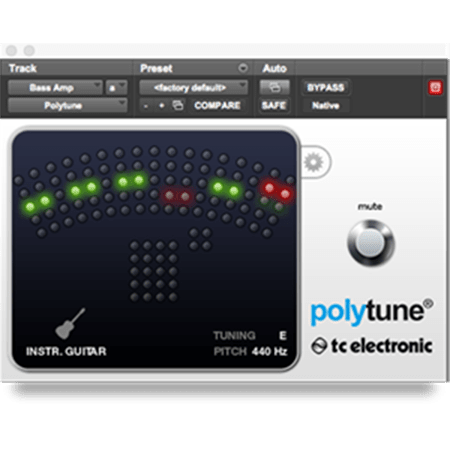 TC Electronic PolyTune v1.05 WiN MacOSX